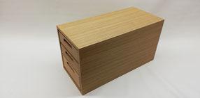 Tablettbox für drei Holztabletts