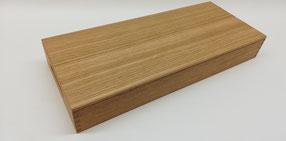 Holzdeckel für Holztabletts.