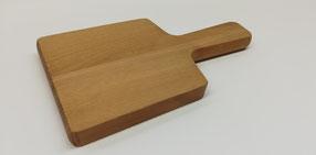 Holzbrett mit Griff zum Servieren