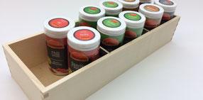 Holzbox für Küchenobjekte