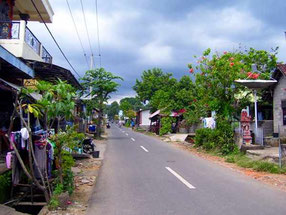road in a village