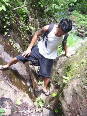 climbing balinese