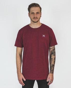 holywhat, hlywht, basic, series, streetwear, tshirt, burgundy, clean, simple