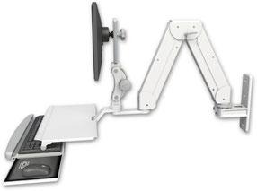 Elite5220シリーズ 壁面固定ロングアーム ディスプレイキーボード用 ワークステーション