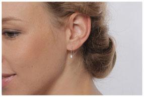 Glockenblümchen Ohrhänger Sibylle Krause