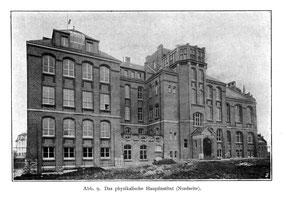 Alte Physik 1905 Nordansicht