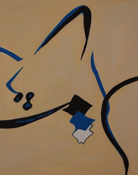 Eta, Acryl auf Leinwand, 40 x 50 cm