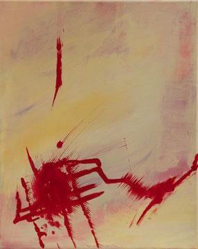 Varios, Acryl auf Leinwand, 40 x 50 cm
