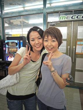 後藤田プロ(左)&青木プロ