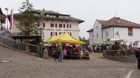 Deutschnofen, Dorfplatz