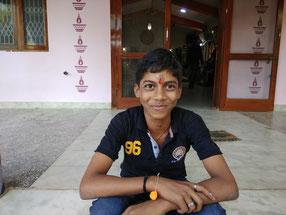 Sabarinathan, X. Klasse Absolvent. Er möchte auf eine dreijährige polytechnische Ausbildung umsatteln.