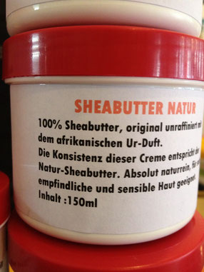 SHEABUTTER NATUR