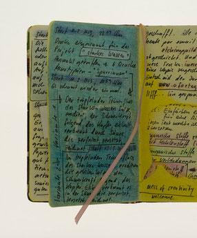 Eliana Bürgin | Aus dem Skizzenbuch 2013/2014 | Alltägliche Gedankengänge skizziert, notiert, gezeichnet und gemalt