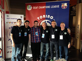Members of DCL Executive Committee with Michael Vestergaard