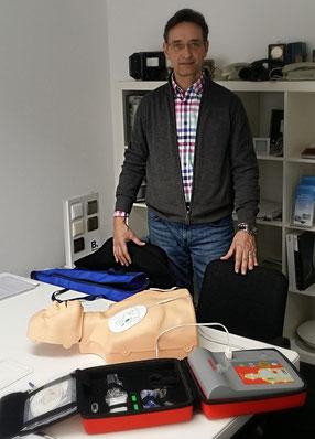 Einweisung durch R Braun Medizintechnik GmbH bei Elektro Wollmer in Birkenfeld