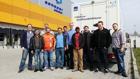 Das Elektro Wollmer GmbH Team bei Sonepar Süd
