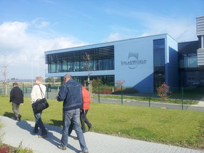 Elektro Wollmer GmbH besucht Solarword in Freiberg