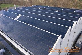 Luftfoto Photovoltaik Werk 33