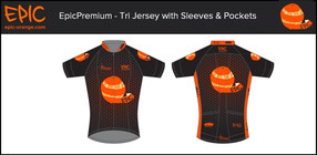 Tri Jerseys with Sleeves & Pockets