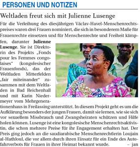Quelle: Freilassinger Anzeiger, 29.04.2021
