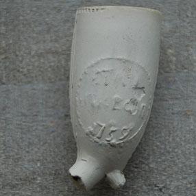 tekst STAD UTRECH 1759. Onbekend productiecentrum, ca 1759-1770