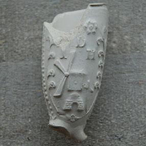 Molen met initialen IDH, 1720-1740 Gorinchem, Jan de Hoog