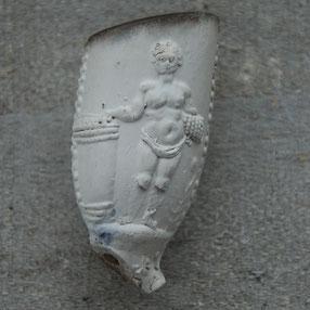 Andere zijde man bij vat. Ca 1700-1730, Gouda