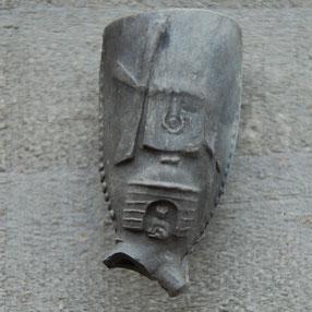 Molen met zittende kat in deuropening. Gorinchem ?! Ca 1730-1750