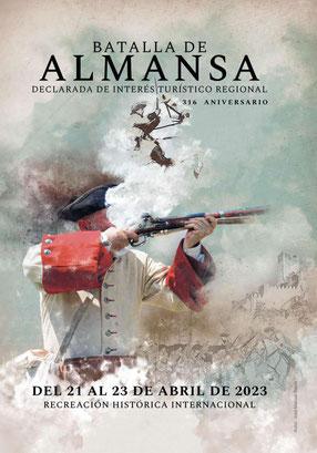Programa de la Batalla de Almansa Recreación Histórica