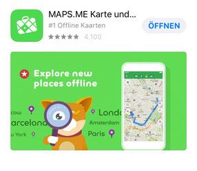 App Maps.me