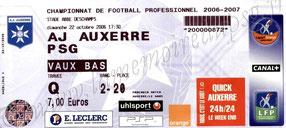 2006-10-22  Auxerre-PSG (10ème L1)