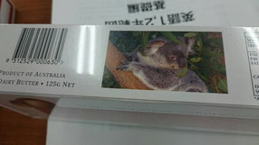 こうたの土産には、オーストラリアのシンボル、コアラが!