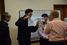 得意な社会授業で5分間のWEB生授業に挑む。