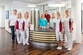 Das Team der Zahnarztpraxis Dr. Udo Rohr in VS-Villingen