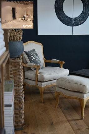 avant apr s r novation am nagement et d coration d 39 int rieur ln int rieur boutique en. Black Bedroom Furniture Sets. Home Design Ideas