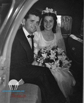 1947, John BRADOVICH married Rose TOBAK
