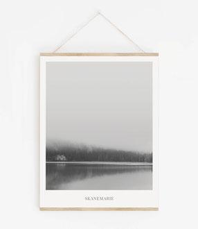 Landskap No.2 - Skandinavische Poster