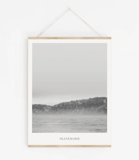 Landskap No.4 - Skandinavische Poster