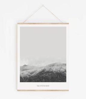 Landskap No.1 - Skandinavische Poster