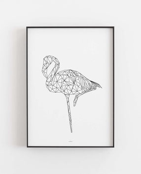Flamingo geometrisch