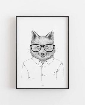 Fuchs im Hemd