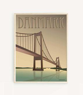 Dänemark Poster