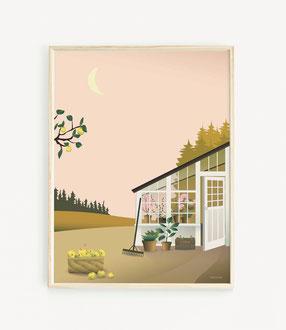 Garden Life Poster ViSSEVASSE