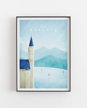 Bayern Poster Geschenkidee