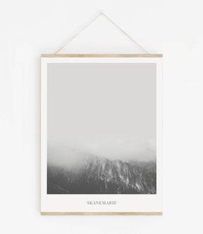 Landskap No.3 - Skandinavische Poster
