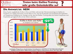 Galileo Vibrationstraining, Gelenkskräfte, Studie, Vibrationsplatten, Meinungen: www.kaiserpower.com