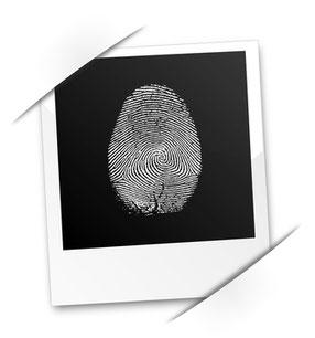 Fingerabdruck individuell
