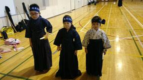 剣道初めての胴着と袴