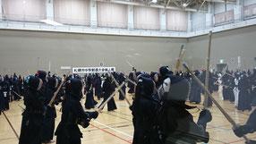 札幌市中体連新人戦 西区剣士たち