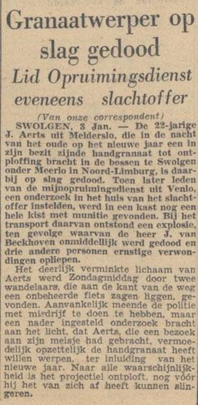 4-1-1949 De Volkskrant